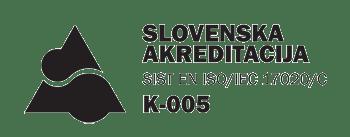 Akreditacijska listina za kontrolo K-005
